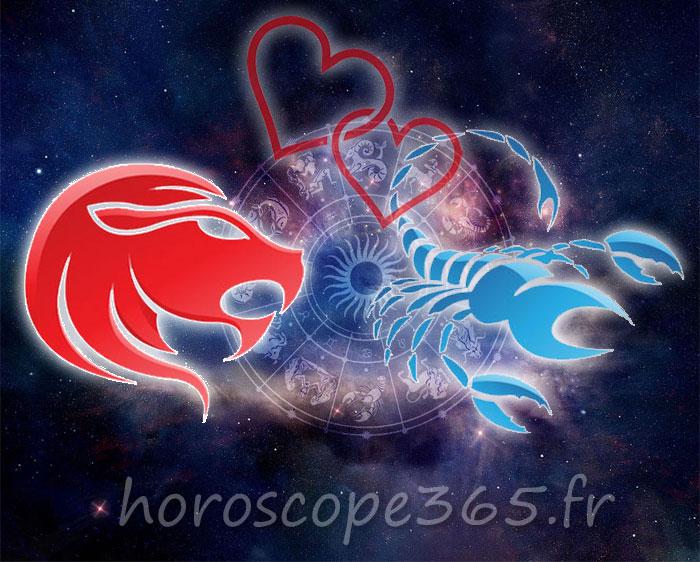 Scorpion Lion horoscope