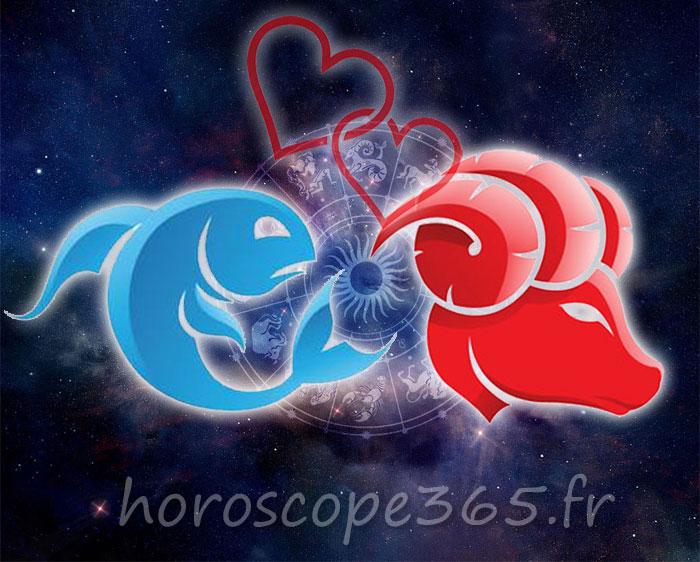 Bélier Poissons horoscope