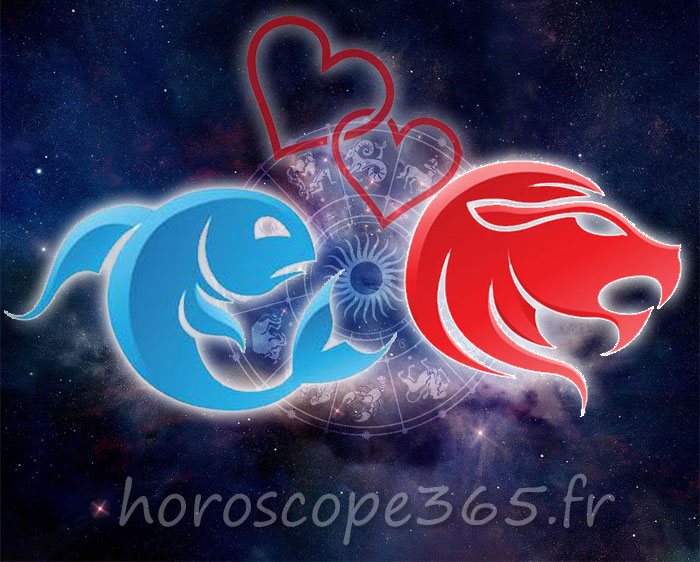Lion Poissons horoscope