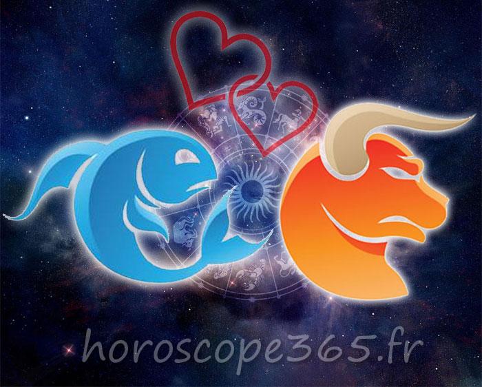 Taureau Poissons horoscope