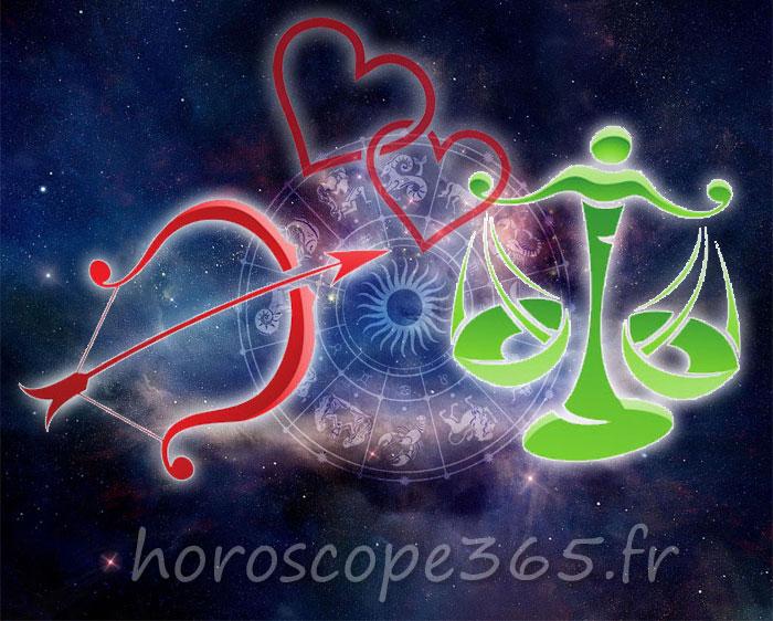 Balance Sagittaire horoscope