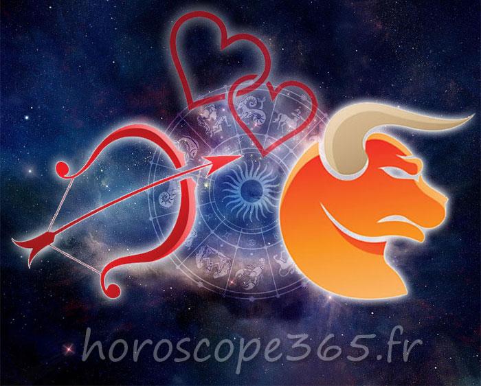 Taureau Sagittaire horoscope