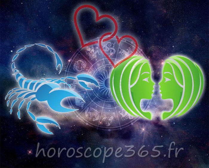 Gémeaux Scorpion horoscope