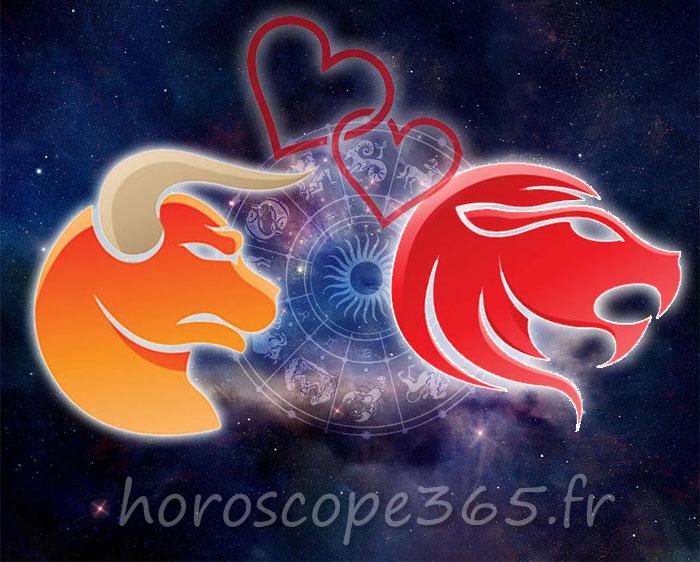 Lion Taureau horoscope