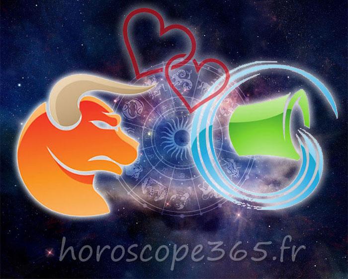 Verseau Taureau horoscope