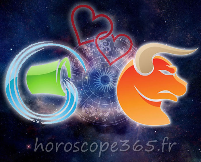 Taureau Verseau horoscope