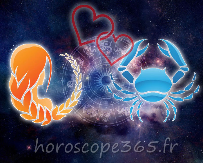 Cancer Vierge horoscope