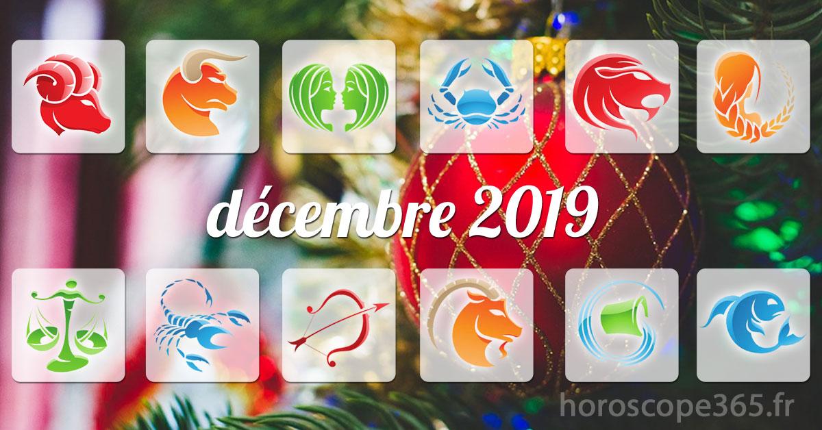 decembre 2019 horoscope