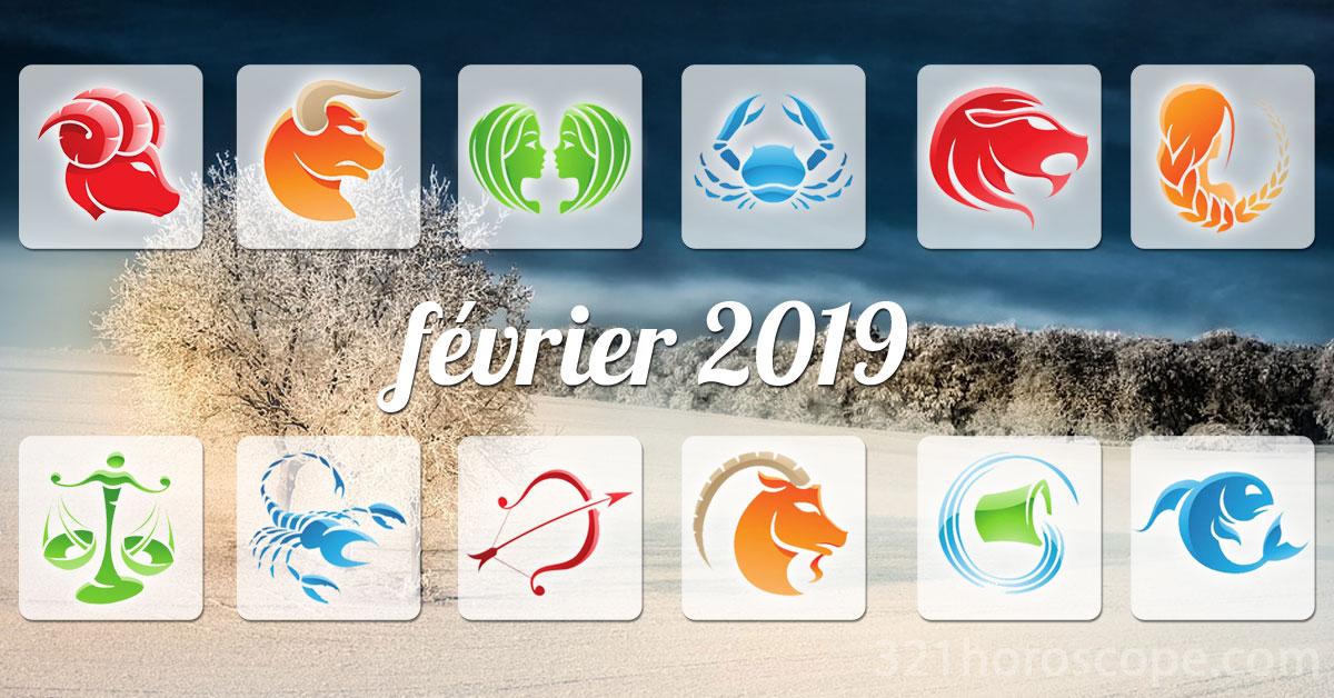 fevrier 2019 horoscope