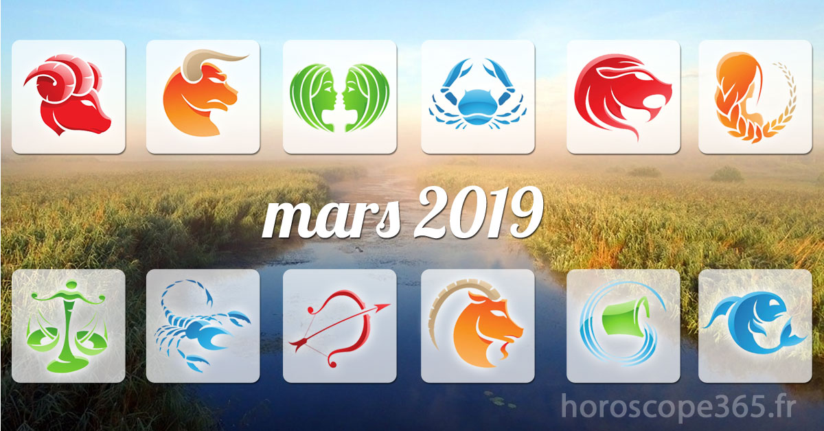 mars 2019 horoscope