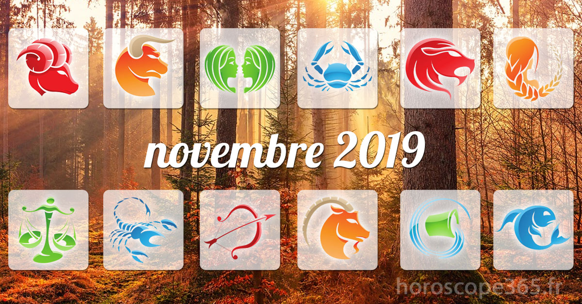 novembre 2019 horoscope