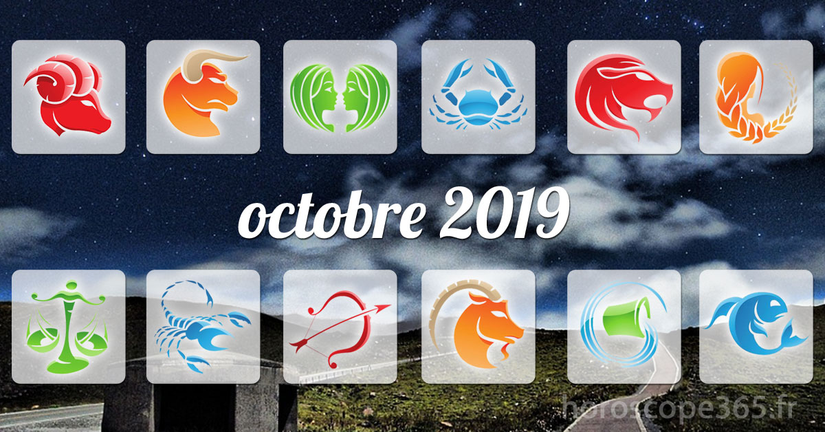 octobre 2019 horoscope