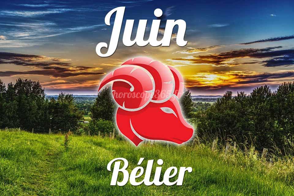 Bélier horoscope Juin