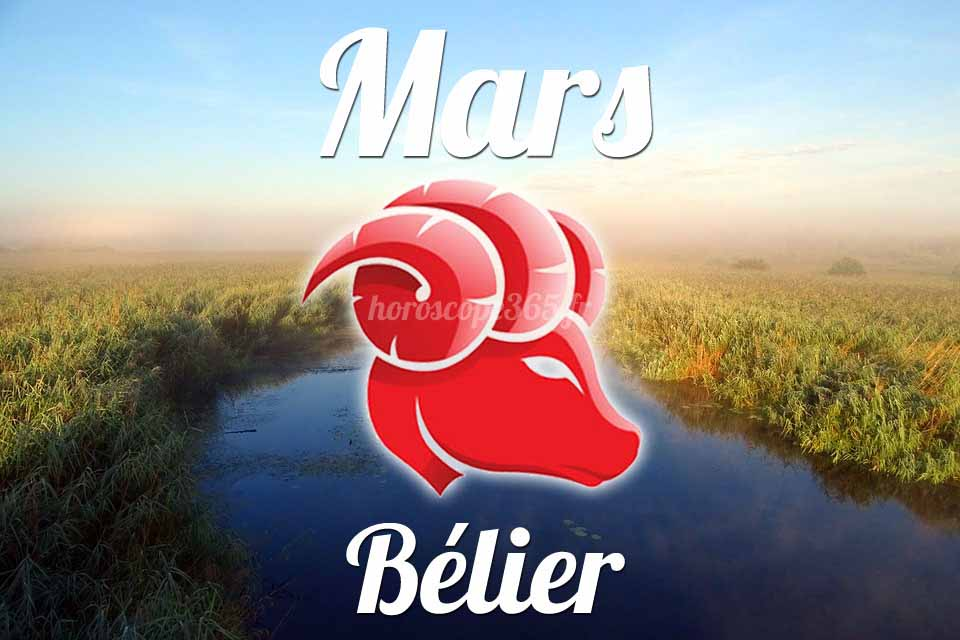 Bélier horoscope mars