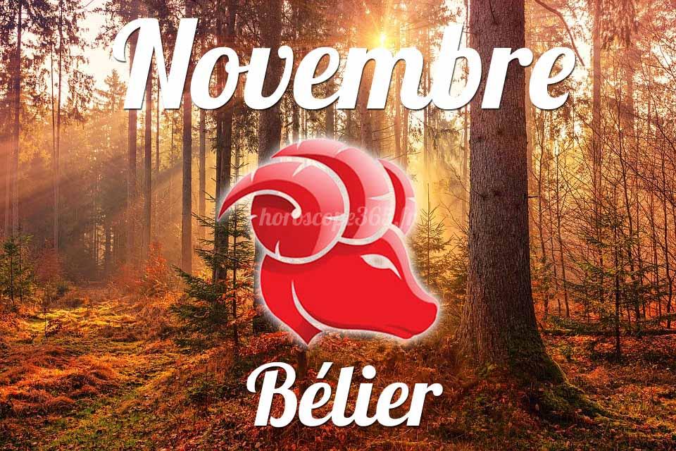 Bélier novembre 2021