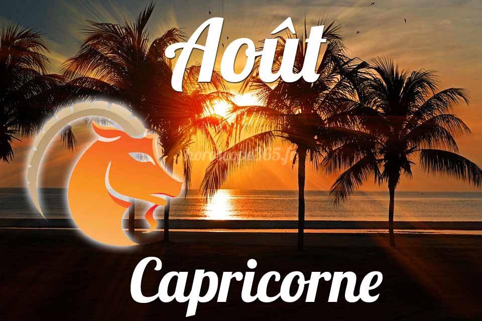 Capricorne aout 2019