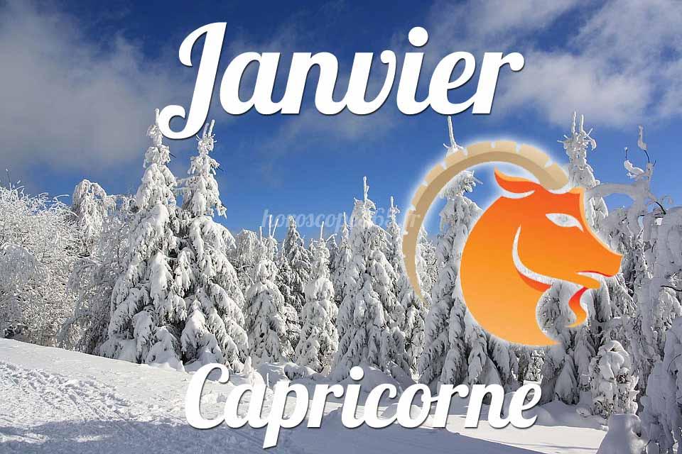 Capricorne horoscope Janvier