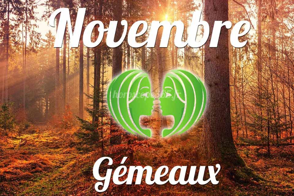 Gémeaux horoscope Novembre