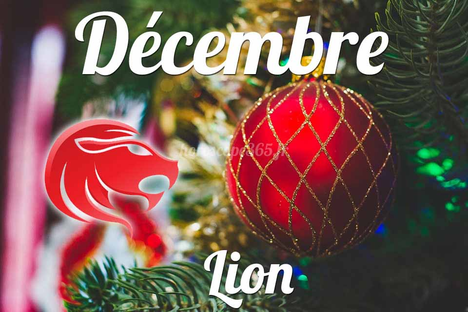 Lion horoscope Décembre