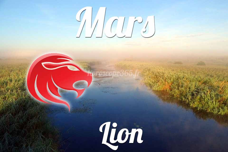 Lion horoscope Mars