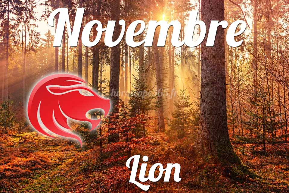 Lion horoscope Novembre