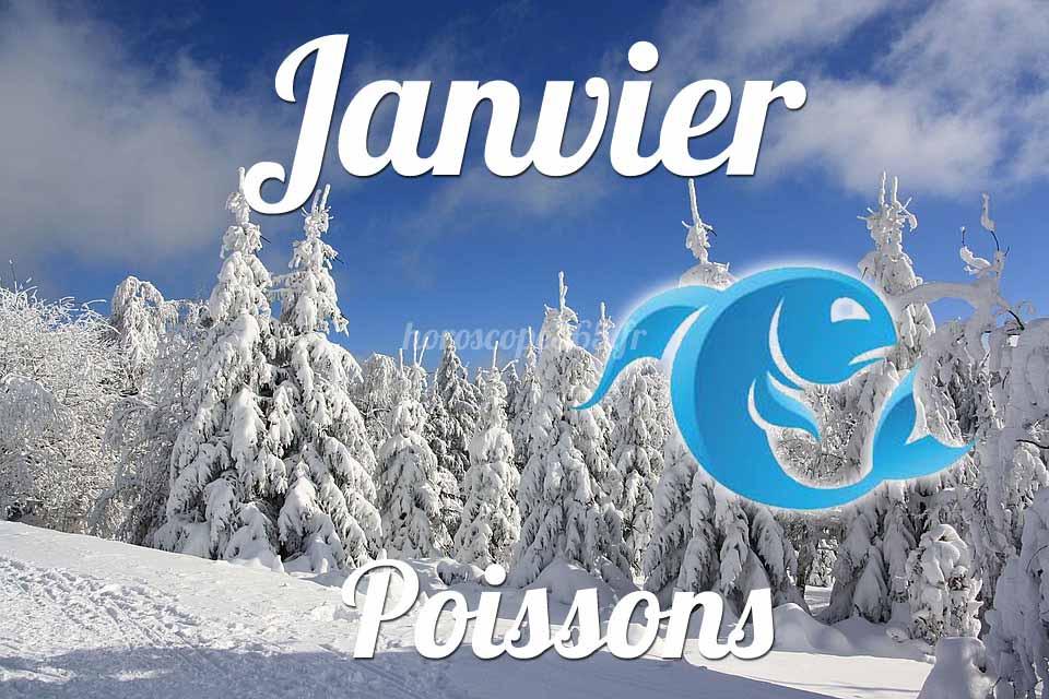 Poissons horoscope Janvier