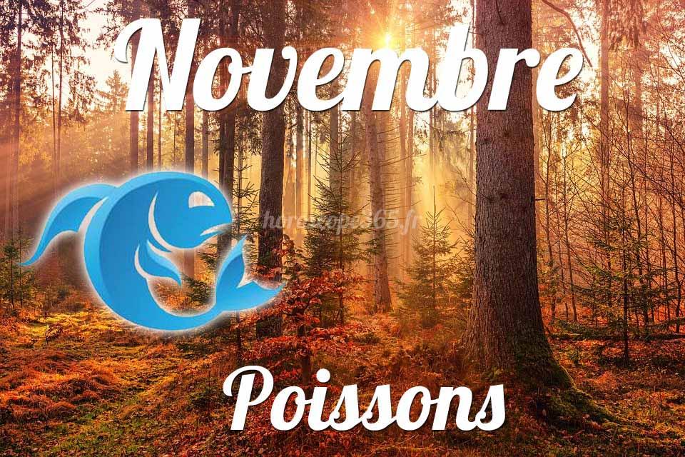Poissons horoscope Novembre