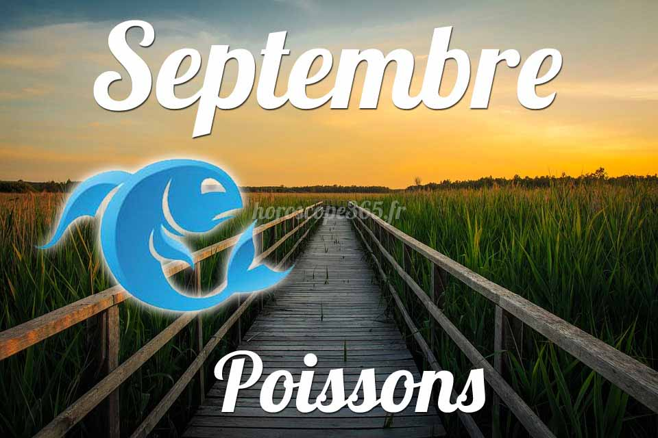 Poissons horoscope Septembre
