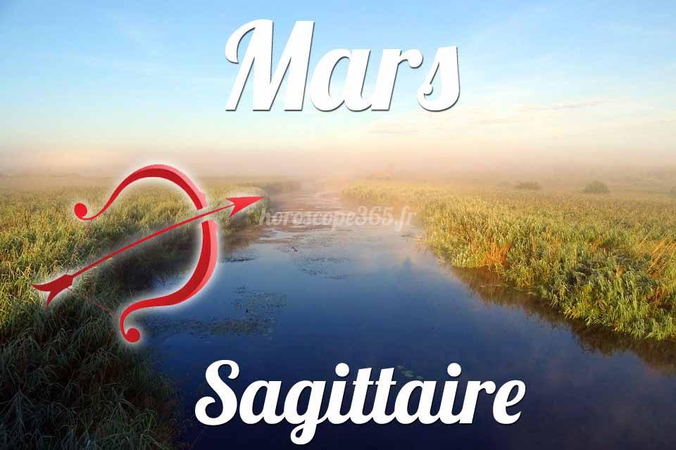 Sagittaire horoscope Mars