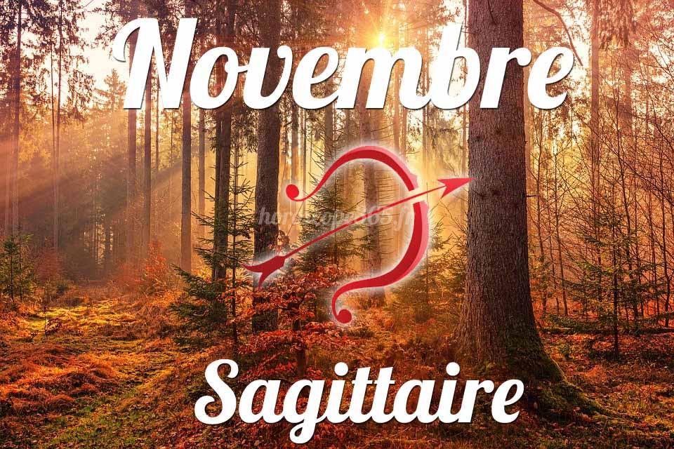 Sagittaire horoscope novembre