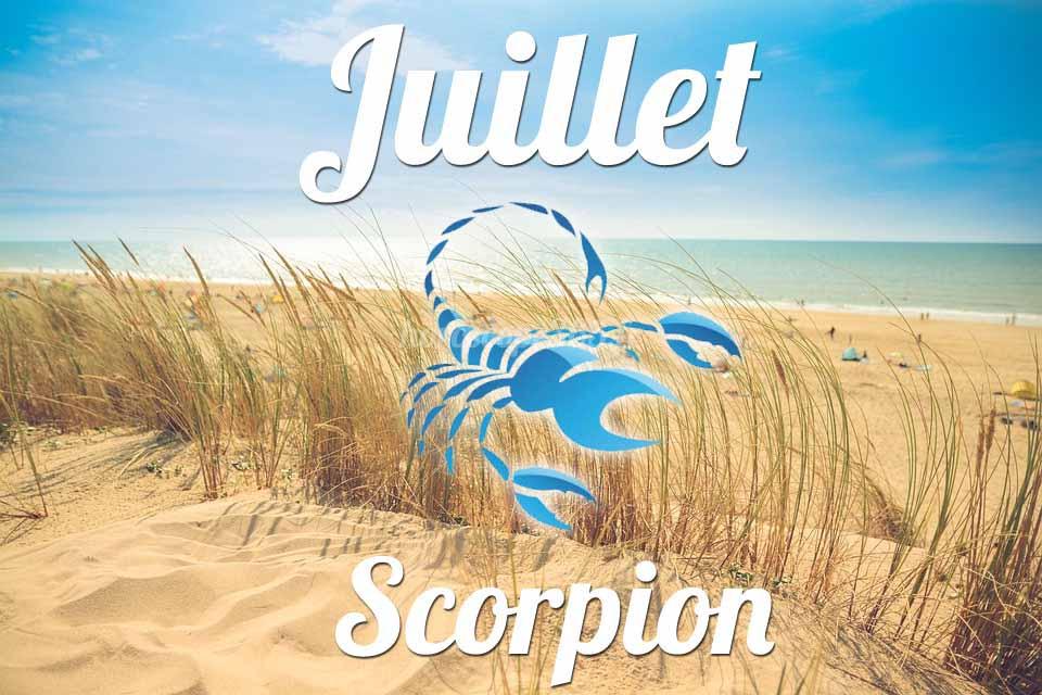 Scorpion horoscope Juillet