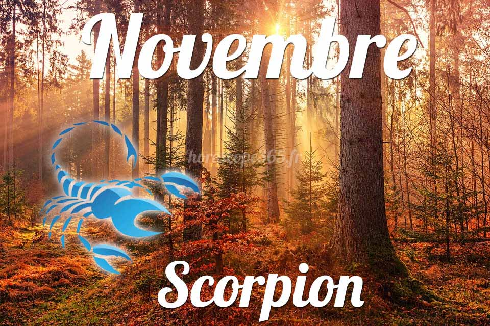 Scorpion horoscope Novembre