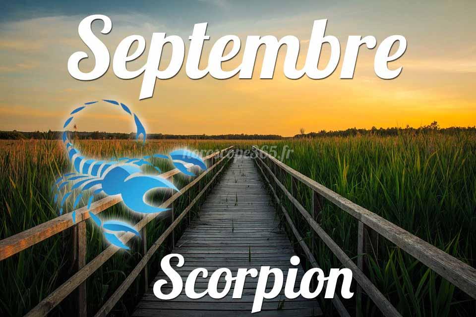 Scorpion septembre 2019