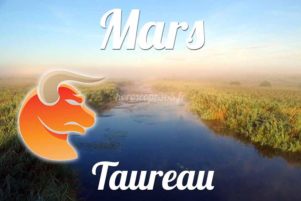 Taureau horoscope mars