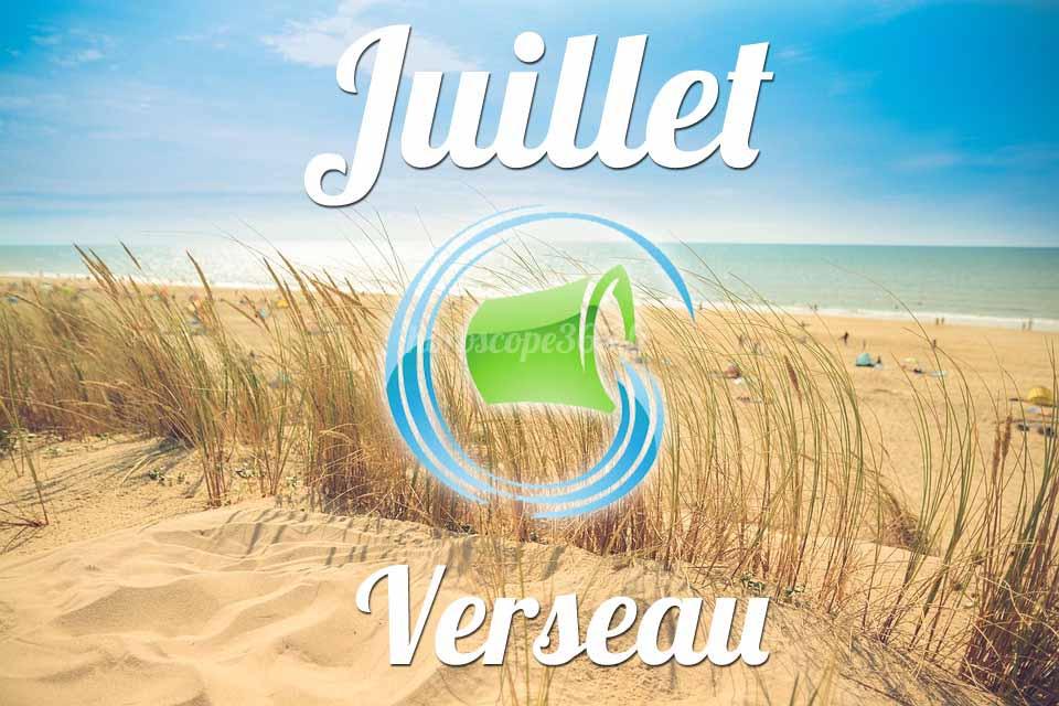 Verseau horoscope Juillet