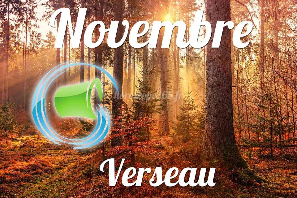 horoscope verseau novembre