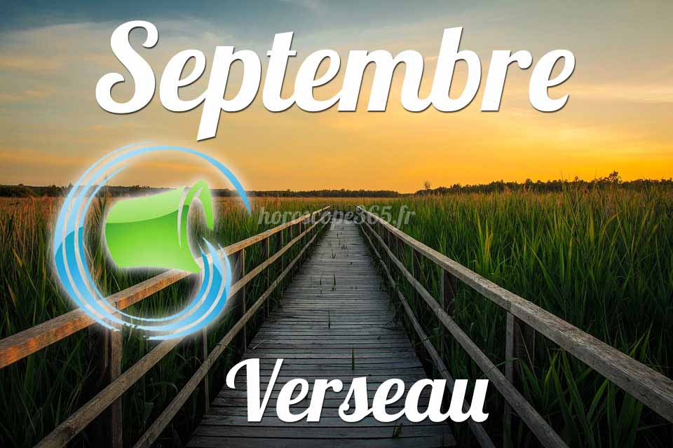 Verseau horoscope septembre