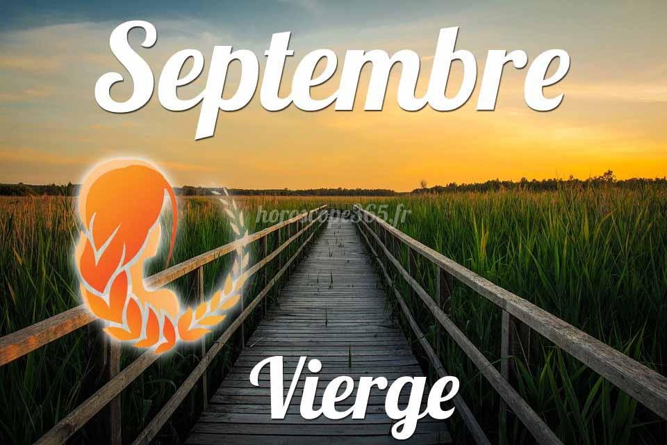Vierge horoscope Septembre