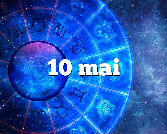 10 mai