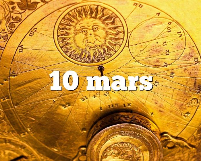 10 mars