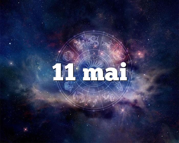 11 mai