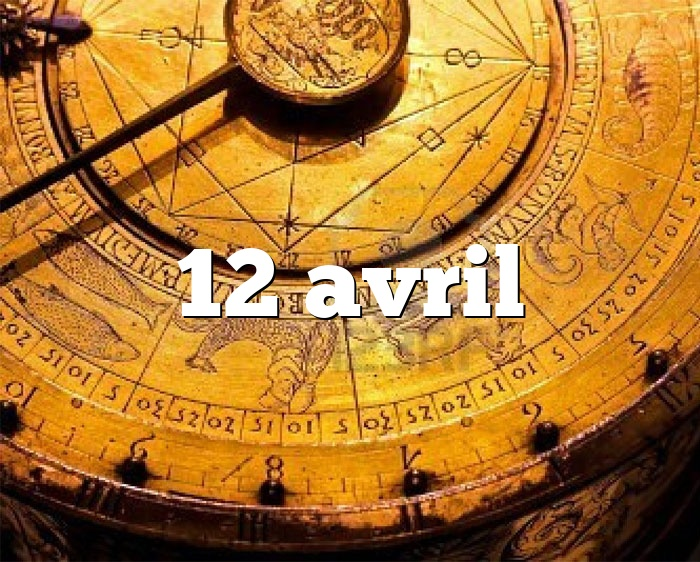 12 avril