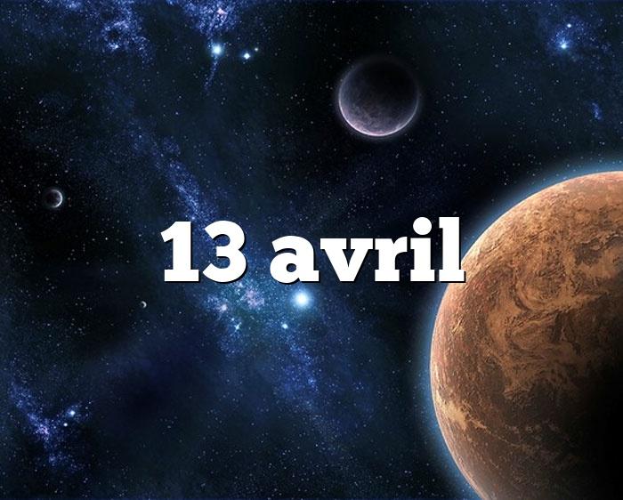 13 avril