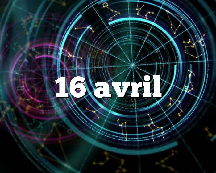 16 avril