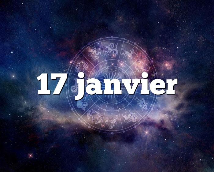 17 janvier