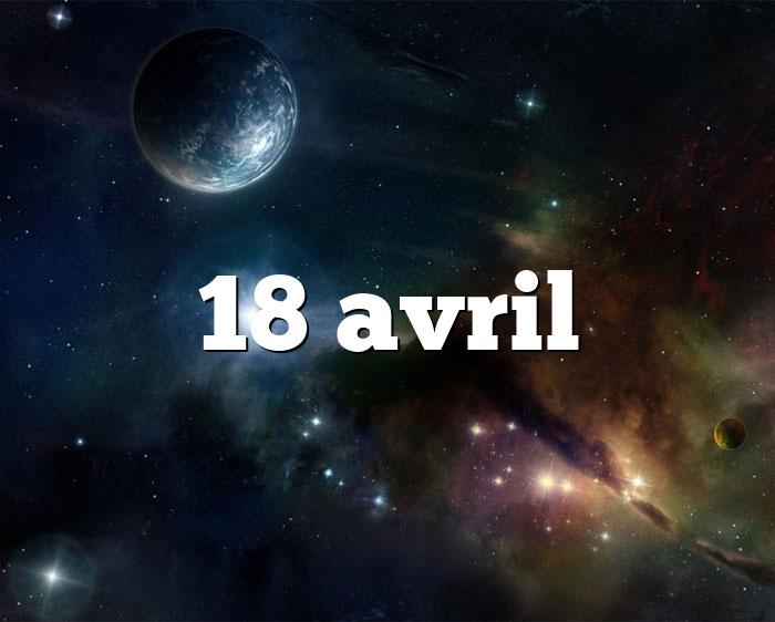 18 avril