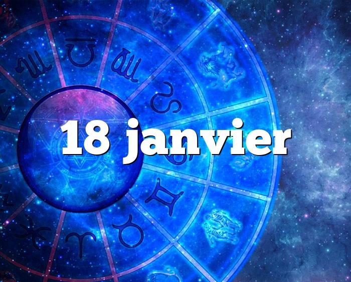 18 janvier