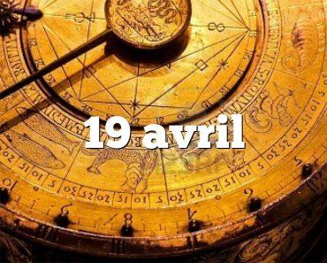 19 avril