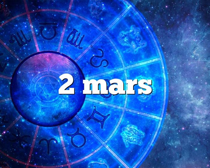 2 mars