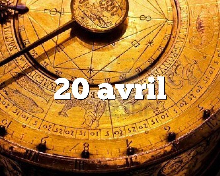20 avril